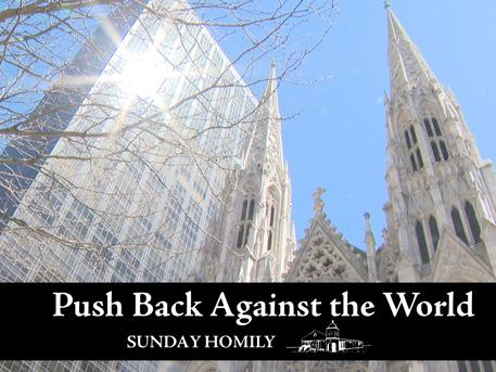 Push Back Against the World