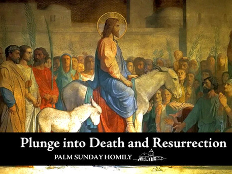 Plunge into Death and Resurrection
