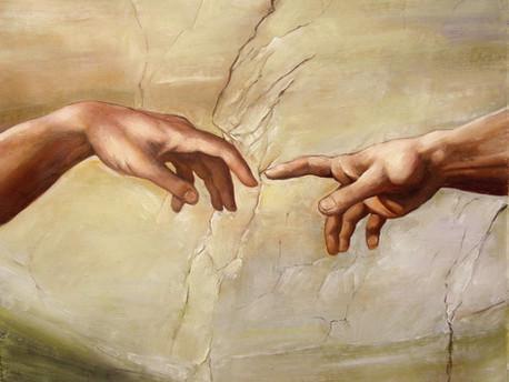 Finger of God: Almsgiving and Hospitality