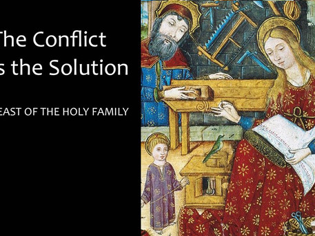 The Conflict is the Solution