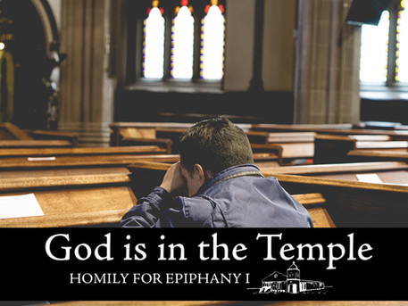 God is in the Temple
