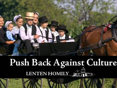 Push Back Against Culture