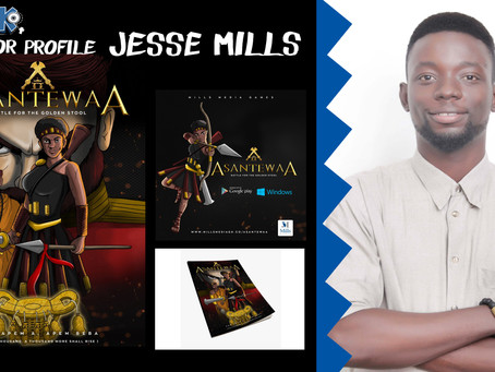 The Jesse Mills of 'Asantewaa' animation and video games.