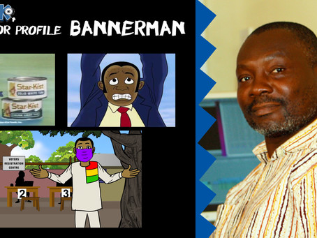 The B-man behind the first animated commercial made in Ghana!