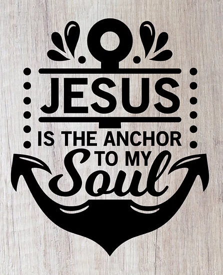 Jesus anchor to soul ($35)