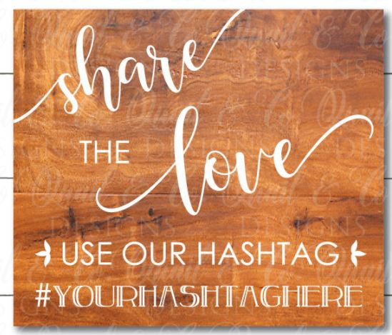 share love hashtag ($40)
