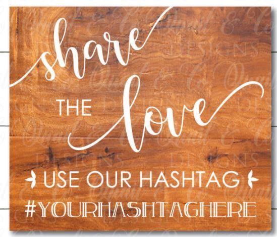 share love hashtag ($40)