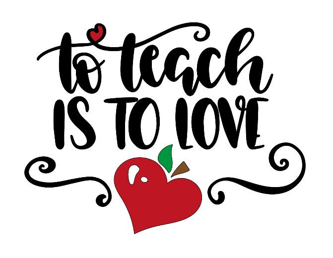 to teach is to love ($30)
