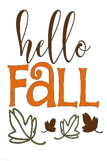 FUNDRAISER Hello Fall 2 ($40)