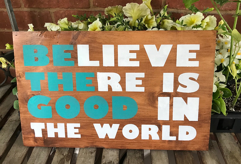 Be the Good ($35)