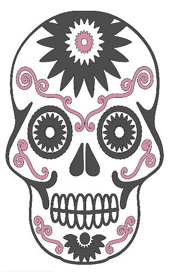 FUNDRAISER Sugar Skull ($40)
