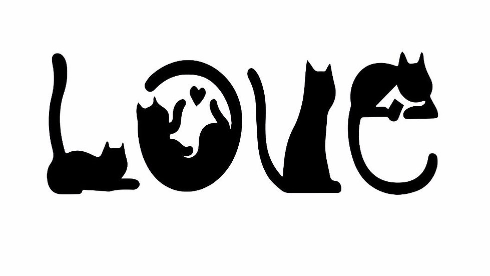 LOVE cats ($30)
