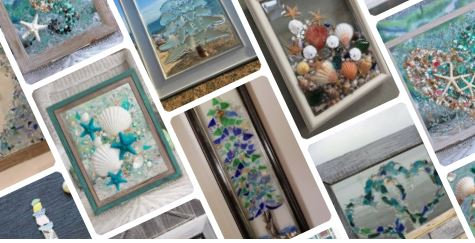 Bottle Works Beach Glass Art Party ($55)