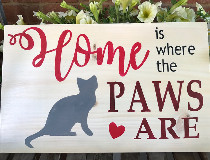 Home Is Where Cat ($35)