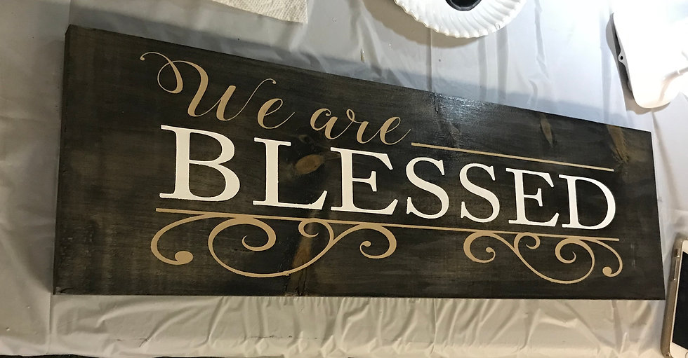 FUNDRAISER We Are Blessed ($47)