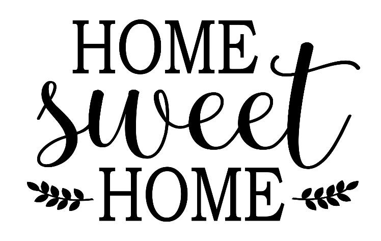 FUNDRAISER home sweet home ($40)