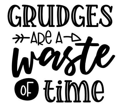 grudges waste time ($35)
