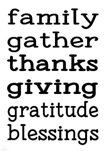 Thanksgiving Family Gather ($35)