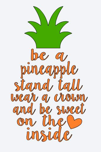 FUNDRAISER Be a Pineapple ($40)