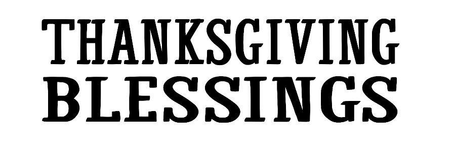 Thanksgiving Blessings ($40)