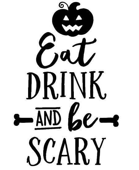 Eat Drink and be Scary ($35)