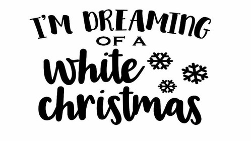 fundraiser white christmas 40 - I M Dreaming Of A White Christmas