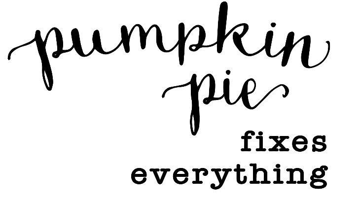 Pumpkin Pie ($35)