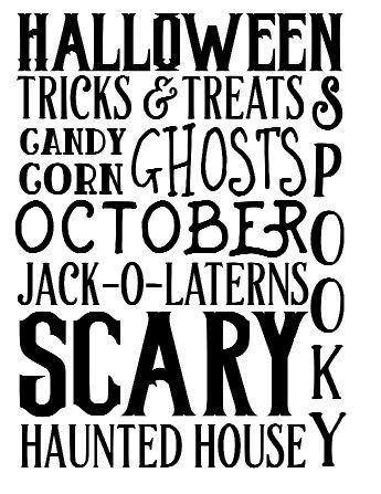 Halloween Phrases ($35)