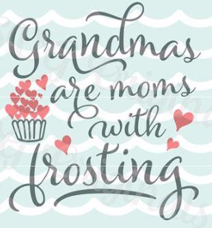 grandmas moms with frosting ($35)