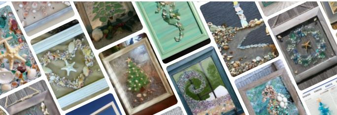 Olivia's Beach Glass Art Party ($42)