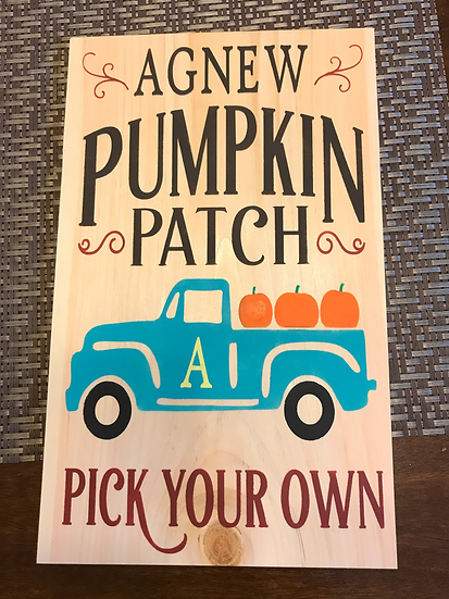 FUNDRAISER Family Pumpkin Patch ($45)