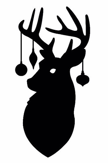 Deer with Ornaments ($30)