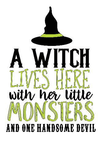 A Witch Lives Here ($35)