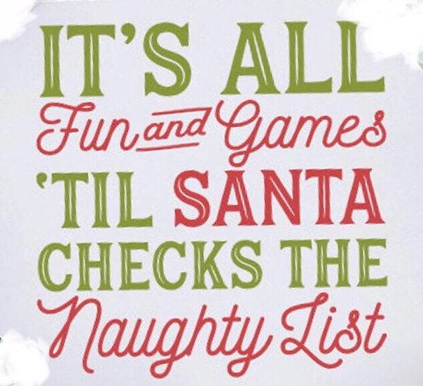 FUNDRAISER Santa List ($40)