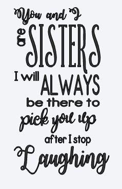 Sisters ($35)