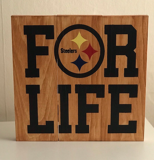 For Life Steelers Pallet ($45)