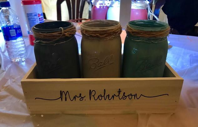mason jar boxes