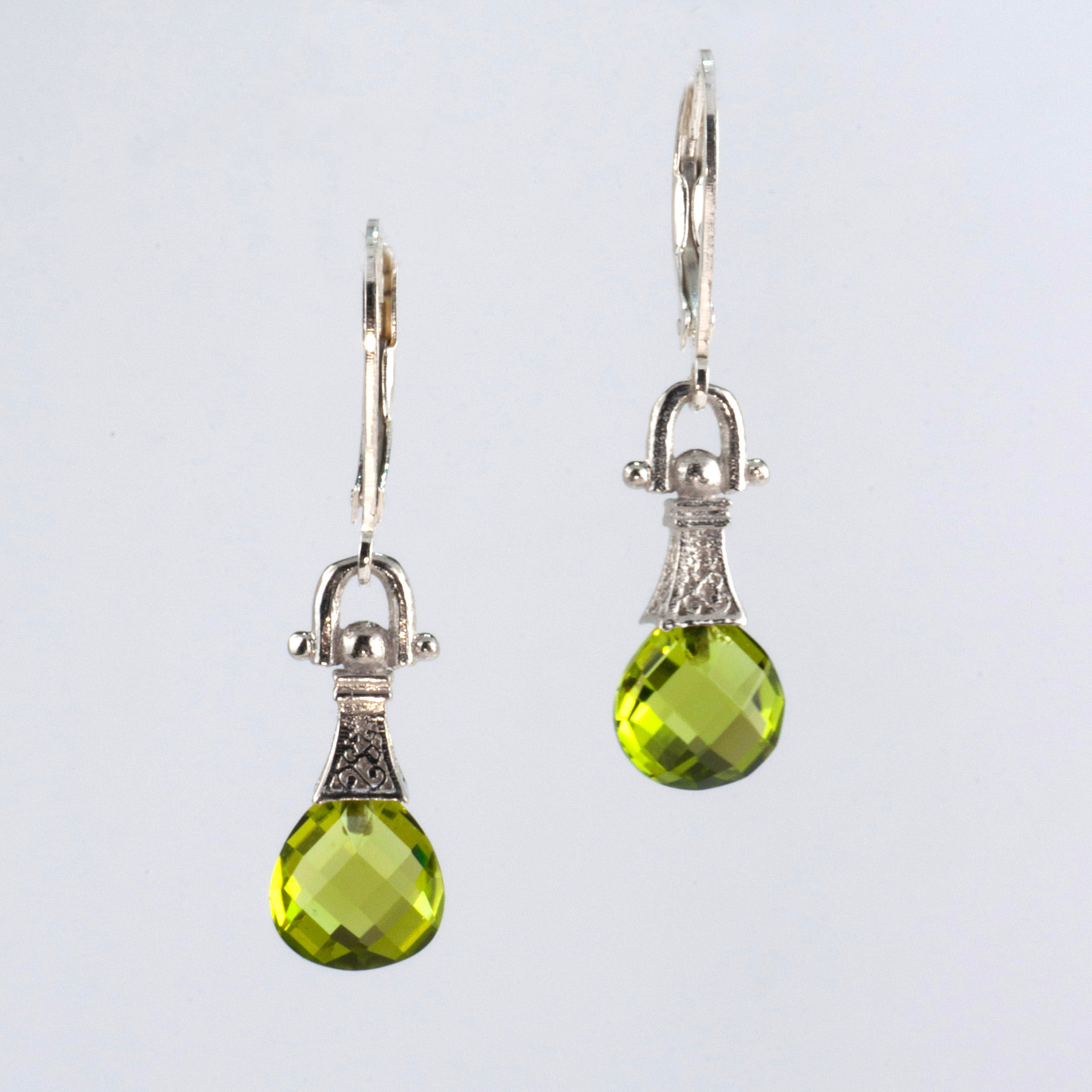 Anatoli Collection Peridot Briolette Earrings Jewelry New Orleans