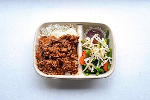 Com Bò ( riz au Boeuf )