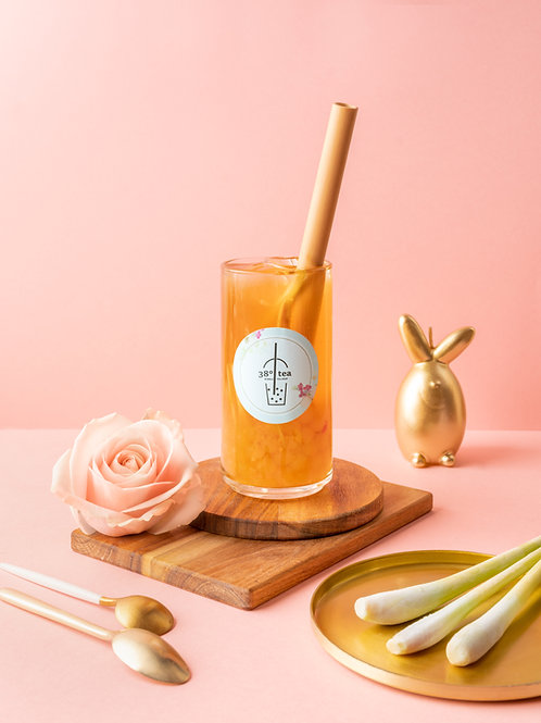 Thé Pêche Orange Citronnelle  ❄️