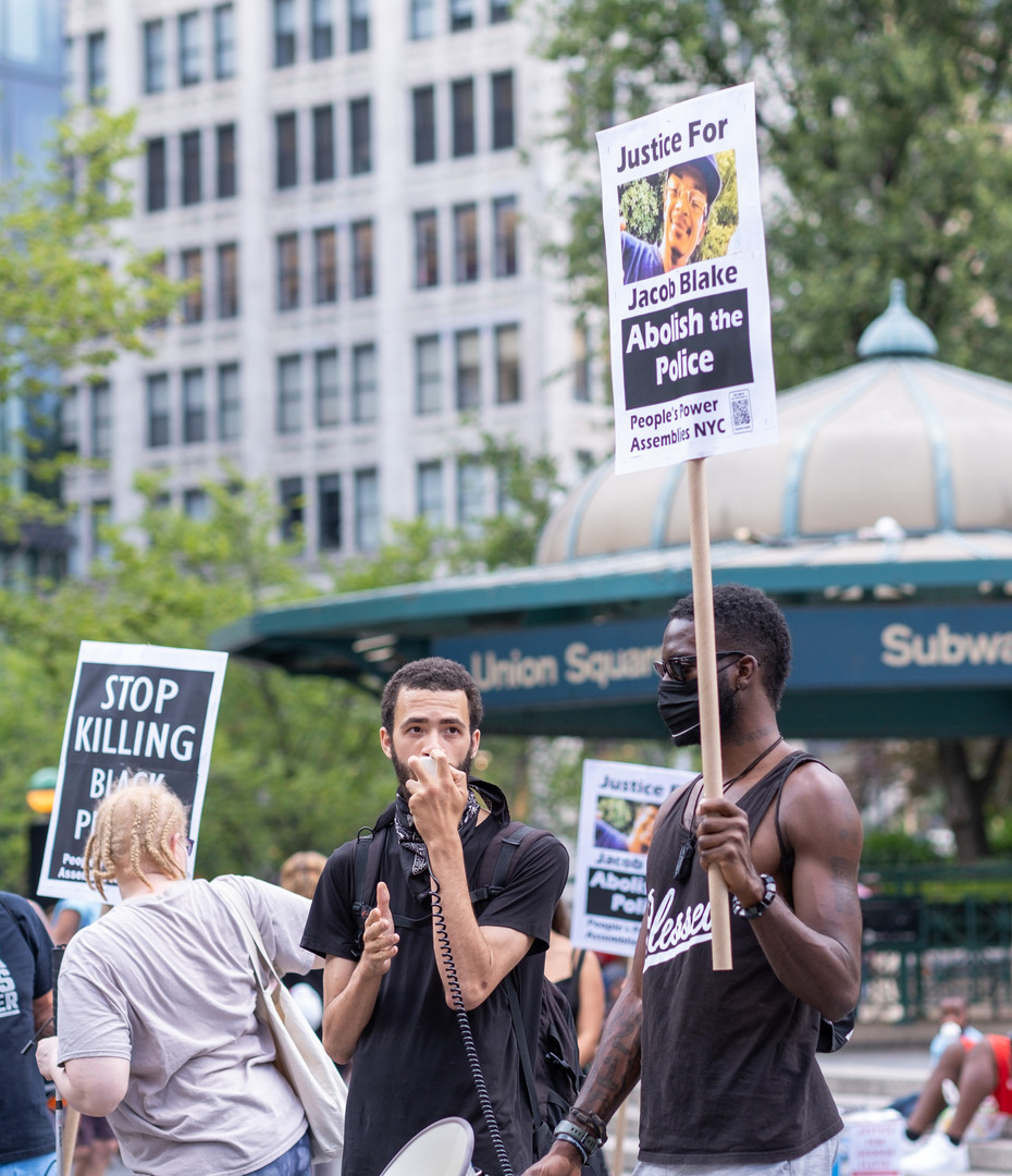 NYC Protest, July 2020
