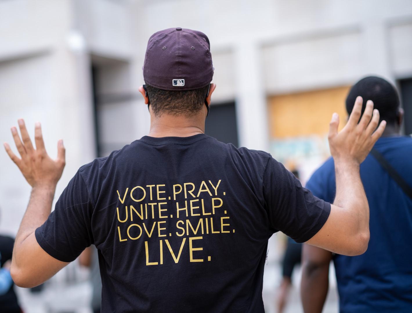 Black Lives Matter Plaza, DC 2020