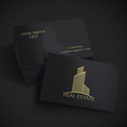 Realestate Business Cards