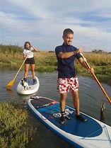 oléron stand pu paddle école découverte balades