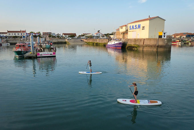 stand pu paddle oléron balades location kayak