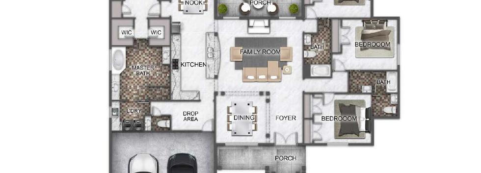 The Grove floorplan