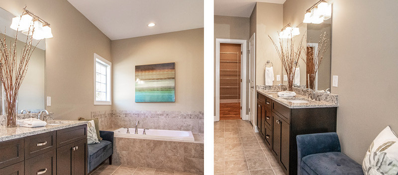 Master Bath Collage