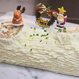 12月のホールケーキ・ビュッシュ・ドゥ・ノエル・シトゥロン