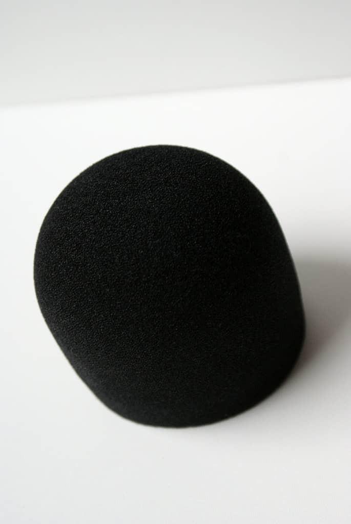 photo d'une bonnette de micro