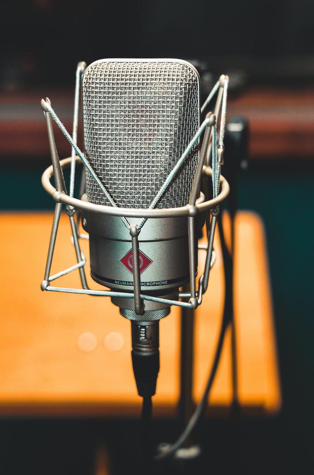 photo du microphone Neumann TLM 102